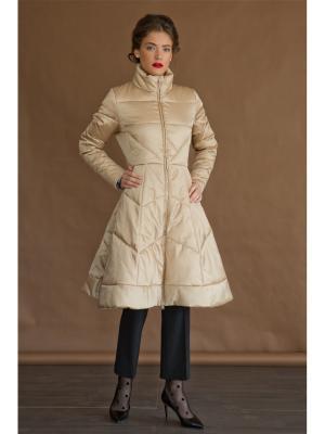 Пальто Tsurpal. Цвет: бежевый