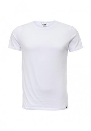 Комплект футболок 2 шт. Lee. Цвет: белый