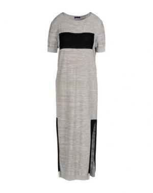 Платье длиной 3/4 NEERA. Цвет: серый