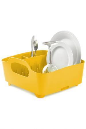 Сушилка для посуды UMBRA. Цвет: желтый
