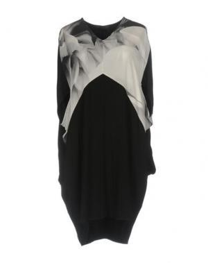 Платье до колена SUPERFINE. Цвет: черный