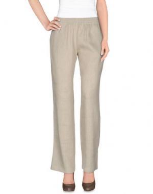 Повседневные брюки BARBON. Цвет: бежевый