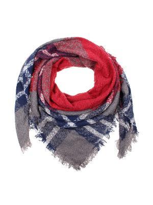 Платок Migura. Цвет: серый, красный, синий