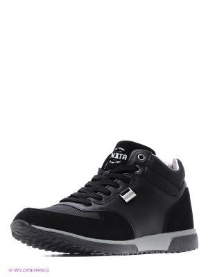 Ботинки UN1TA. Цвет: черный
