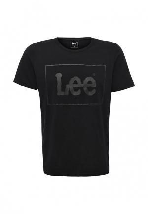 Футболка Lee. Цвет: черный
