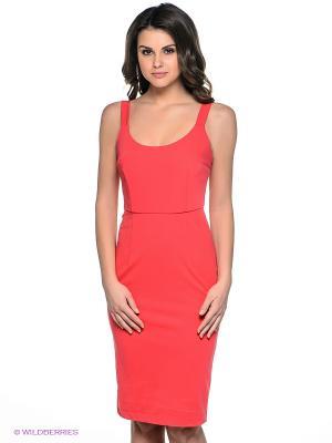 Платье Befree. Цвет: красный