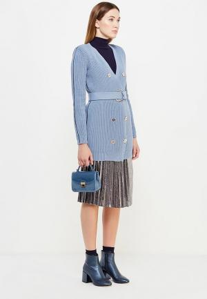 Платье Elisabetta Franchi. Цвет: голубой
