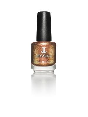 Лак для ногтей  # 736 Gingersnap, 14,8 мл JESSICA. Цвет: золотистый