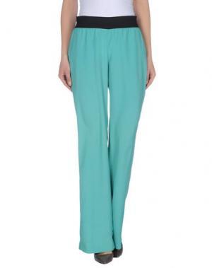 Повседневные брюки TROU AUX BICHES. Цвет: бирюзовый