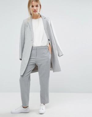 Samsøe & Укороченные брюки Samsoe. Цвет: серый