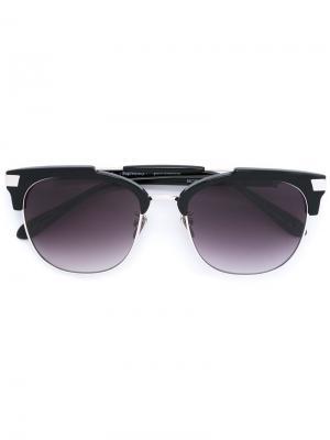 Солнцезащитные очки Nuevo Viaje Frency & Mercury. Цвет: чёрный