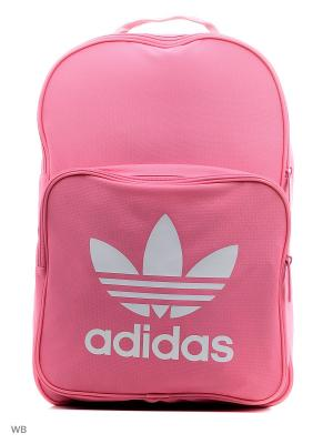 Рюкзак взр. BP CLAS TREFOIL EASPNK Adidas. Цвет: розовый