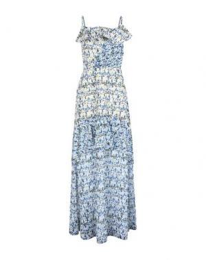 Длинное платье RARY. Цвет: светло-зеленый
