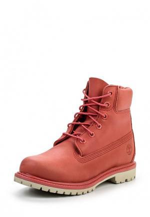 Ботинки Timberland. Цвет: коралловый