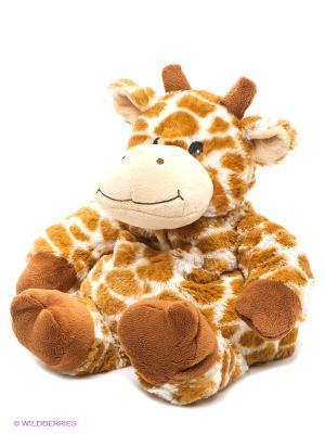 Игрушка-грелка Жираф Cozy Plush. Цвет: коричневый, бежевый