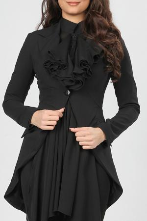 Пиджак Isabel Queen. Цвет: черный