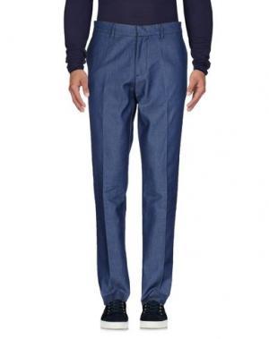 Джинсовые брюки MC MASTER OF CEREMONIES. Цвет: синий