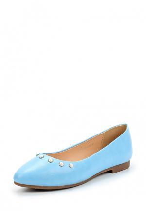 Балетки Zenden Woman. Цвет: голубой