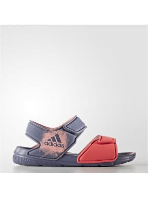 Сандалии Adidas. Цвет: фиолетовый