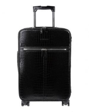 Чемодан/сумка на колесиках DSQUARED2. Цвет: черный
