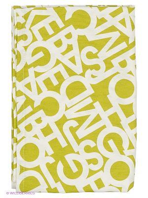 Скатерть Alba Green T&I. Цвет: бежевый, желтый