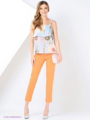 Капри Femme. Цвет: оранжевый
