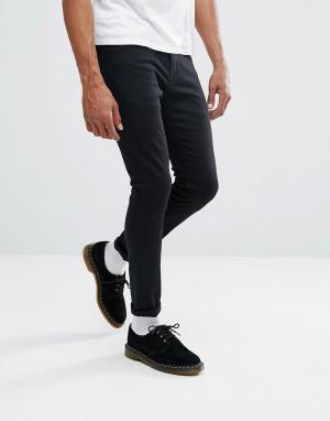Lee Темно-серые джинсы скинни Malone. Цвет: серый