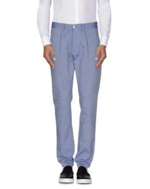 Повседневные брюки 26.7 TWENTYSIXSEVEN. Цвет: грифельно-синий