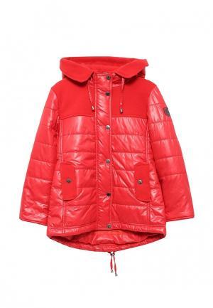 Пальто Saima. Цвет: красный