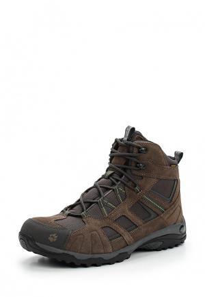 Ботинки Jack Wolfskin. Цвет: коричневый