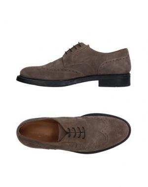 Обувь на шнурках ANGELO NARDELLI. Цвет: хаки