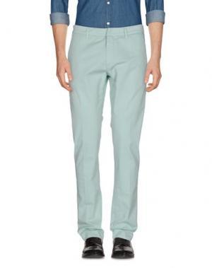 Повседневные брюки FRADI. Цвет: светло-зеленый