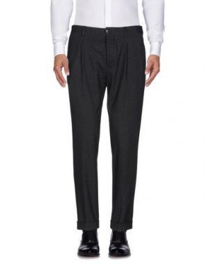 Повседневные брюки MANUEL RITZ. Цвет: черный