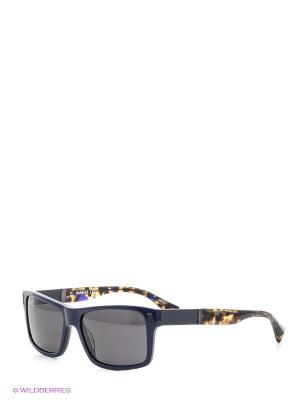 Солнцезащитные очки BLD 1521 101 Baldinini. Цвет: синий, коричневый