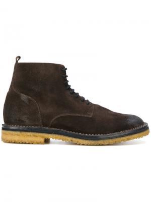 Ботинки по щиколотку Buttero. Цвет: коричневый