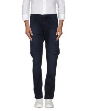 Повседневные брюки REIGN. Цвет: темно-синий
