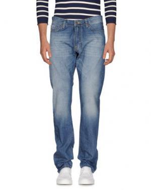 Джинсовые брюки MCS MARLBORO CLASSICS. Цвет: синий