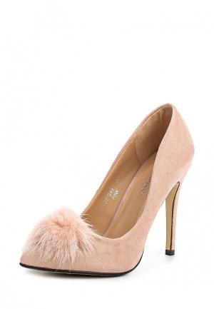 Туфли Ideal Shoes. Цвет: розовый