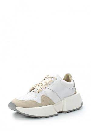 Кроссовки MM6 Maison Margiela. Цвет: белый