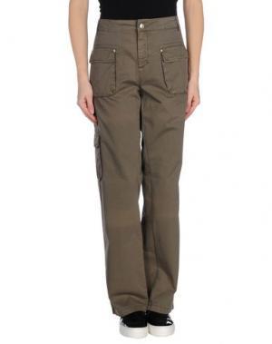 Повседневные брюки TOY G.. Цвет: свинцово-серый