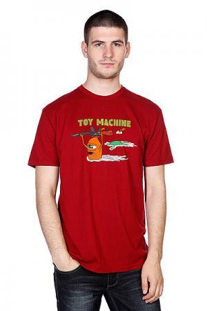 Футболка  Blood River Cardinal Toy Machine. Цвет: красный