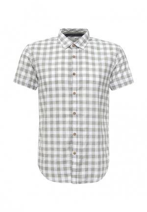 Рубашка Tom Tailor Denim. Цвет: хаки