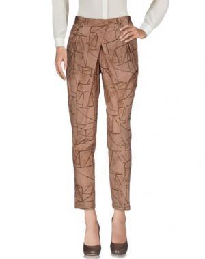 Повседневные брюки ATTIC AND BARN. Цвет: телесный