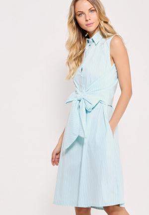 Платье Nastasia Sabio. Цвет: голубой