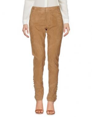 Повседневные брюки HOTEL PARTICULIER. Цвет: верблюжий