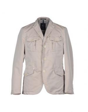 Пиджак CALVARESI. Цвет: светло-серый