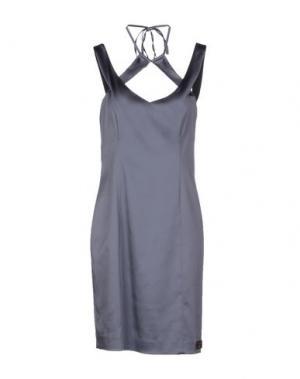 Короткое платье GOOD ON HEELS. Цвет: грифельно-синий