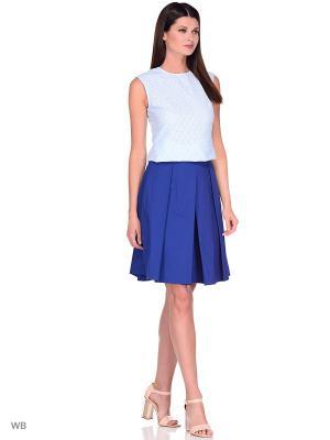 Блузка APRELLE. Цвет: светло-голубой