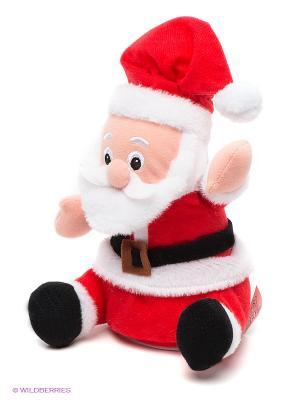 Плюшевый Дед Мороз Woody O'Time. Цвет: красный, белый, черный, персиковый