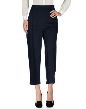 Повседневные брюки CQFP. Цвет: темно-синий